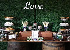 amazing candy buffet, eagle creek wedding, lake nona wedding