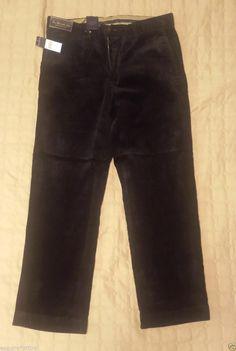 #POLO Ralph Lauren men size 33x30 corduroy pants black RalphLauren visit our ebay store at  http://stores.ebay.com/esquirestore