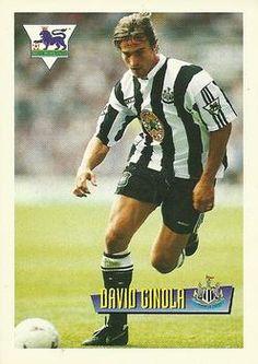 1996-97 Merlin's Premier League #42 David Ginola Front