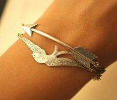 Arrow and bird