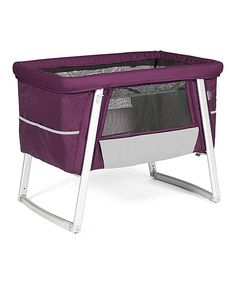 Look at this Purple Air Bassinet on #zulily today!