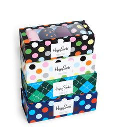Happy Socks Gift box. Who's happy now #packaging PD
