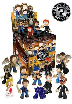Amazon.com: Supernatural Funko Mystery Mini Figure One Single Random Figure: Funko Mystery Minis: Toys & Games