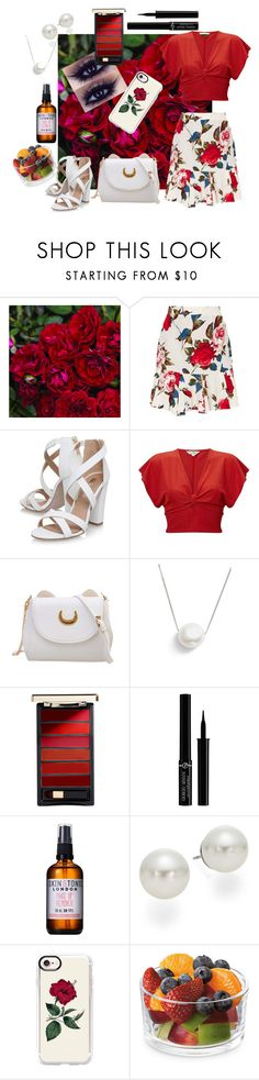"""Rose Bud"" by m-aviles-ma ❤ liked on Polyvore featuring Miss KG, Miss Selfridge, Chan Luu, L'Oréal Paris, Giorgio Armani, Skin & Tonic, AK Anne Klein and Casetify"
