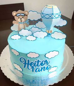 Bolo Tom E Jerry, Tom Y Jerry, Baby Shower Cakes, Baby Shower Niño, Baby Chower, Baby Love, Fiesta Decorations, Gum Paste Flowers, Character Cakes