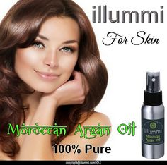 illummi Argan Oil for your skin.