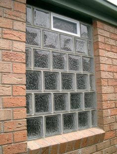 Learn how to install glass blocks into the bathroom window, maybe even the spare bedroom window.