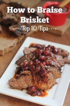 How to Braise Brisket