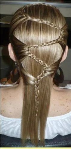 lace S braid Braided Hairstyles For Wedding, Bride Hairstyles, Pretty Hairstyles, Corte Y Color, Cool Braids, Hair Remedies, Girls Braids, Creative Hairstyles, Little Girl Hairstyles