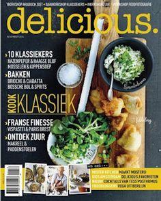 Proefabonnement: 3x delicious € 17,50: delicious is hét tijdschrift voor mensen met een passie voor lekker eten en lekker leven met exclusieve gerechten van celebrity chefs als Jamie Oliver en Nigella Lawson.