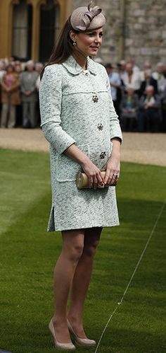 First Photos of Kate Middleton's Baby Bump (for Real This Time)