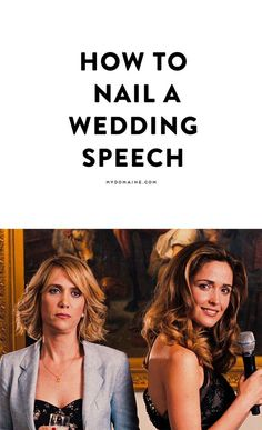 Writing a wedding speech? Read these helpful tips on how to win the crowd (and happy couple) over Bridesmaid Speeches, Sister Wedding Speeches, Bridesmaid Duties, Bridesmaid Hacks, Best Friend Wedding Speech, Best Man Speech, Wedding Humor, Wedding Tips, Wedding Toast Samples