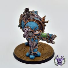 Thousand sons (Tzeentch) - Helbrute #ChaoticColors #commissionpainting #paintingcommission #painting #miniatures #paintingminiatures #wargaming #Miniaturepainting #Tabletopgames #Wargaming #Scalemodel #Miniatures #art #creative #photooftheday #hobby #paintingwarhammer #Warhammerpainting #warhammer #wh #gamesworkshop #gw #Warhammer40k #Warhammer40000 #Wh40k #40K #chaos #warhammerchaos #warhammer40k #tzeentch #thousandsons #Helbrute #Dreadnought Thousand Sons, Warhammer 40000, Tabletop Games, Space Marine, Gw, Miniatures, Fantasy, Creative, Marines