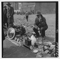 U.S. Junk Market in the Great Depression, NYC, 1933 //  by Samuel H. Gottscho