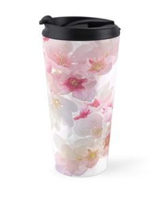 """""""In Early Spring"""" Travel Mugs by PolkaDotStudio 