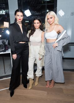 Kim, Kendall & Kylie at Kendall & Kylie's pop up shop launch - September 7, 2016