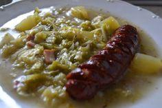 Fotorecept: Kelový prívarok - Recept pre každého kuchára, množstvo receptov pre pečenie a varenie. Recepty pre chutný život. Slovenské jedlá a medzinárodná kuchyňa
