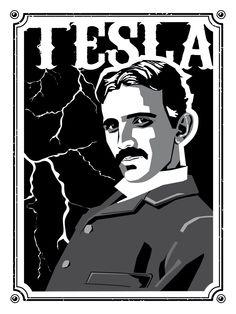 PÓSTER. ¿Quién no ama a Nikola Tesla?