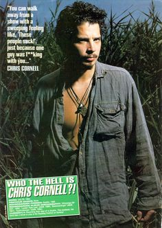 July 1964 - May of the Dog Chris Cornell, Joseph Cornell, Say Hello To Heaven, Tom Delonge, Temple Of The Dog, Soundtrack To My Life, I Have A Crush, My Generation, Best Albums