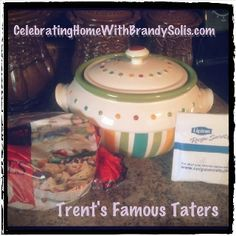 """Cube red potatoes, place in your Celebrating Home Bean Pot. Pour packet of Liptons Onion Soup mix over potatoes and mix well. Place lid on Bean Pot and microwave 10min or until """"fork soft"""". Soooo yummy!! Don't Have a Celebrating Home Bean Pot? Get Your Now at www.CelebratingHomeWithBrandySolis.com"""