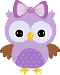 Purple Owl Clip Art   Purple Owl Clipart Children Clipart Owls