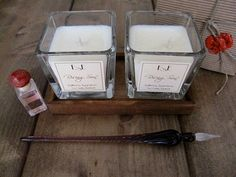 Soy Wax Candles Ylang ylang Patchouli  by EstherEssenceCandles