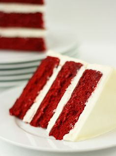 When it comes to Red Velvet Cake, I believe there is one gold standard of perfection and this recipe achieves just that.