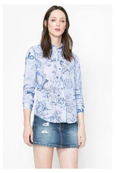 Women's cotton shirt | Desigual.com