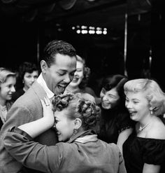 Martha Holmes—Time & Life Pictures/Getty ImagesSinger Billy Eckstine gets a hug from an adoring fan after a show in New York in 1949. This was one of Martha Holmes's own favorite photographs.