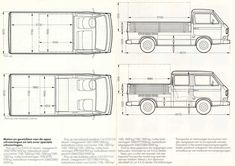 bed size vw doka - Google Search
