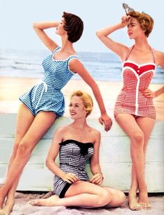 50s fashions, summer :)