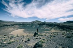 Lunar Crater - Lunar Crater, located in Lunar Crater Volcanic Field near Tonopah, is almost 4,000 ft in diameter, 430 ft deep and more than 400 acres in size. Interesting fact: During the late 1960s, Lunar Crater was used to train astronauts for the Apollo moon missions.