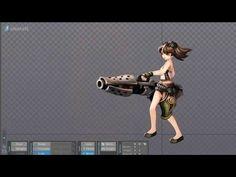 animation spine demo 2 - YouTube