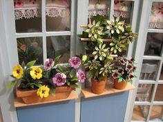 Mine dukkehuse: Blomster