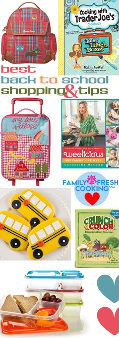 Best Back to School Shopping and Tips   FamilyFreshCooking.com