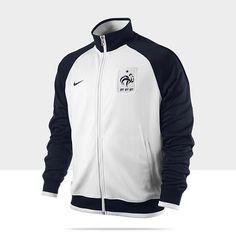 FFF White Official FFF France Soccer Team Fan Scarf