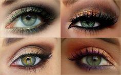Как красить глаза зеленые и карие – дневной макияж