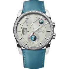 Parmigiani Fleurier Tonda 42 Hémisphères Globo Diamonds Steel…