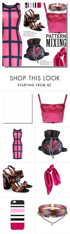 """Pink combo"" by soks ❤ liked on Polyvore featuring Simona Corsellini, Tabitha Simmons, DKNY and polyvoreeditorial"