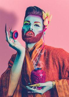 Bearded Brutes: I Take Glitter Beard Themed Photographs | Bored Panda