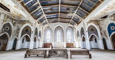 Detroit's vast Woods Cathedral is on the cusp of resurrection as an arts hub - The Spaces City Icon, Art Hub, Cathedral Church, Detroit Wedding, Abandoned Places, Art World, New Art, Places To Go, Architecture