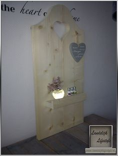 Woon accessoires van steigerhout