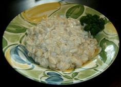 Cream Cheese Sauce. Versatile and ridiculously easy. I used it over bland chicken breasts, and it was a big hit.