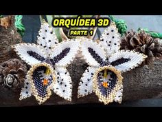 Beaded Flowers Patterns, Beading Patterns Free, Beaded Jewelry Patterns, Peyote Patterns, Beading Tutorials, Making Bracelets With Beads, Jewelry Making, Flower Video, Peyote Beading