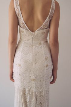 Vintage Lace Gown with Gold Beading - Great Gatsby Chic on Etsy, $2,299.95 AUD