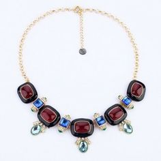 Vintage Statement Necklace Summer Jewelry-in Choker Necklaces from Jewelry on Aliexpress 6,11€