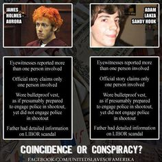 Coincidence or Conspiracy?