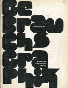 Gebrauchsgraphik 1968