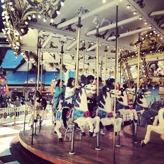 Lotte World Carousel.