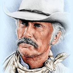 Robert Duvall as Gus McCrae by Andrew Read Portrait Sketches, Art Sketches, Stevie Nicks Young, Lonesome Dove, Robert Duvall, Celebrity Caricatures, Western Movies, Cowboy And Cowgirl, Film Music Books